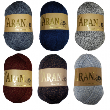 Jarol Aran with 30% Wool 400g